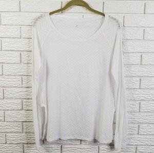 Lululemon Presence of Mind L/S Shirt 8 Chevron